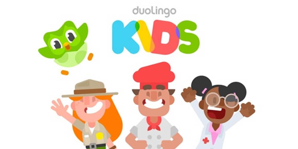 App per imparare inglese duolingo kids