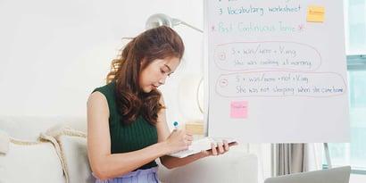 Arbeit und Freizeit als Online-Tutor