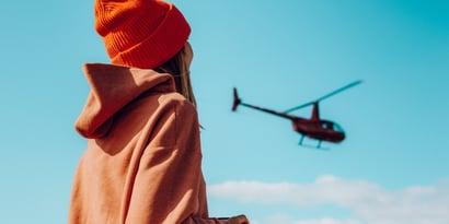 ¿Eres un padre helicóptero?