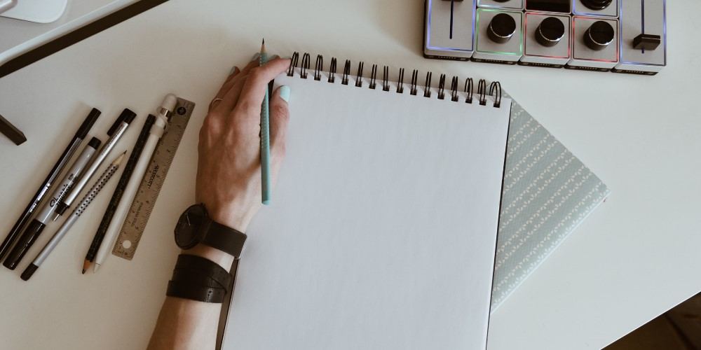 Écrire gaucher