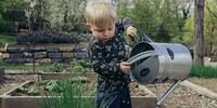 benefici del giardinaggio per bambini