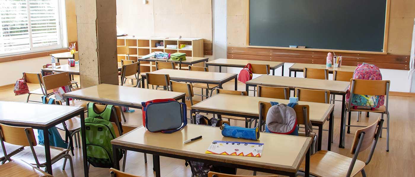 independent school classroom